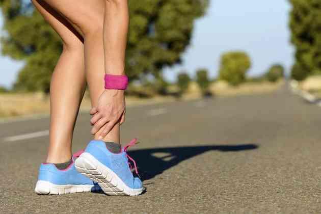 cum să pierdeți greutatea cu glezna spartă